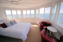 Three luxury self catering properties overlooking the sea