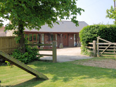 Self catering accommodation in a rural location