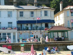 Hotel opposite the beach, Esplanade Hotel, Shanklin, Isle of Wight