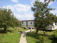 Self catering static caravans