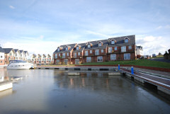 Self catering cottages with private mooring on the Medina, Island Harbour Holiday Homes, Newport, Isle of Wight