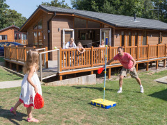 Landguard Holiday Park, Shanklin, Isle of Wight. Holiday park in Shanklin Isle of Wight