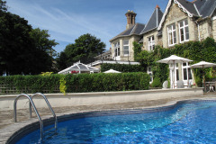 Leconfield Hotel, Ventnor, Isle of Wight. Hotel with pool and sea views