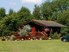 Chalets, Lodges and Caravans in rural Dorset.