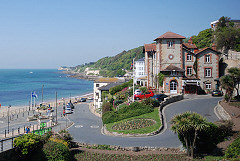 Hotel overlooking the sea, St Augustine Villa, Ventnor, Isle of Wight